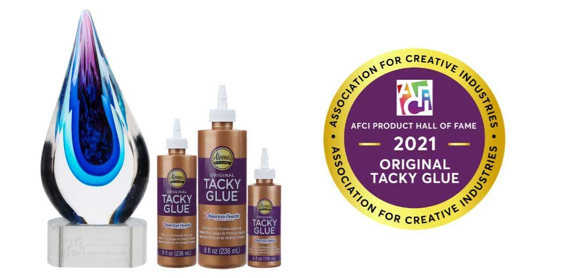 Aleene's Original Tacky Glue Inducted into AFCI Product Hall of Fame