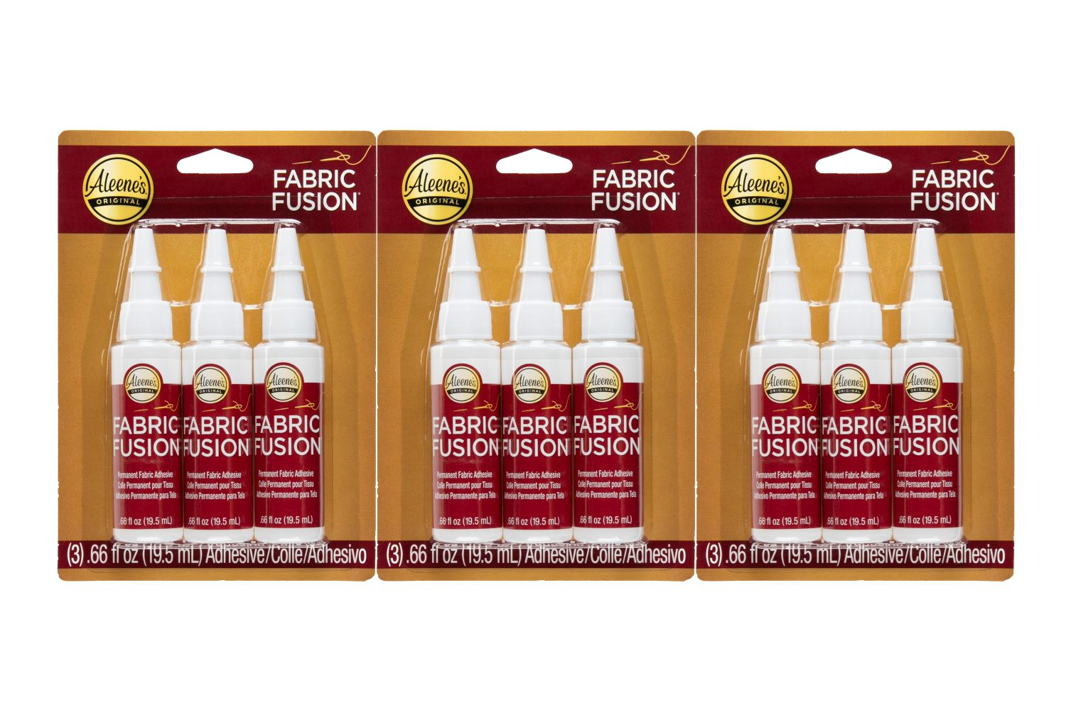 Picture of Aleene's Trial Pack Fabric Fusion 3 Pack Bundle
