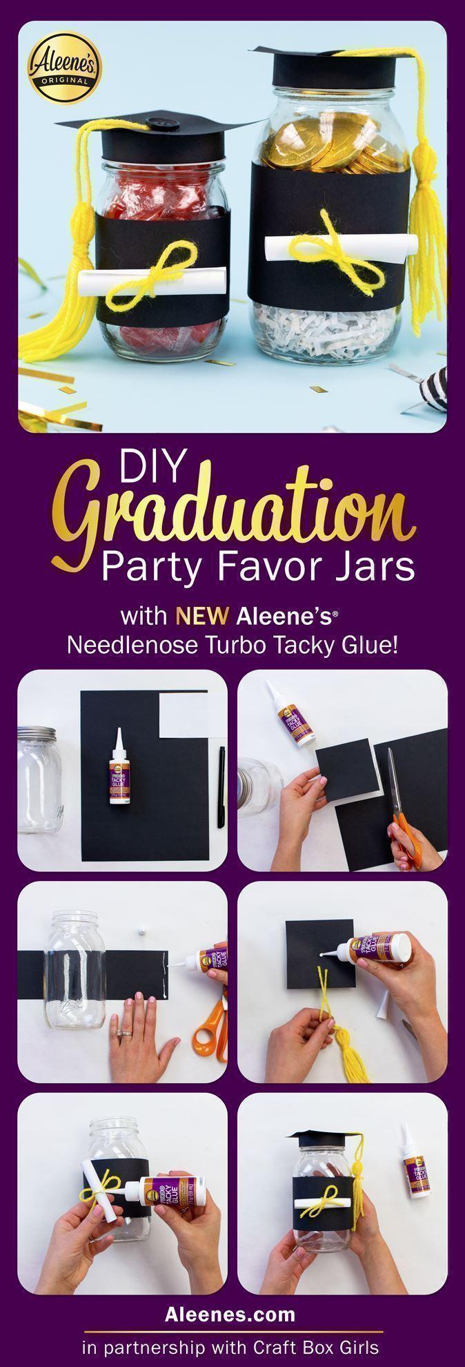 Easy DIY Graduation Party Favors