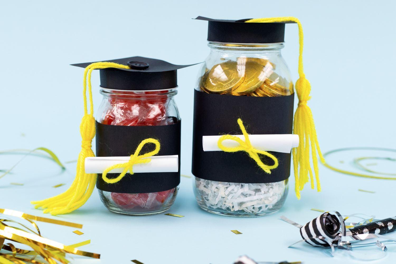 Fill jars with treats