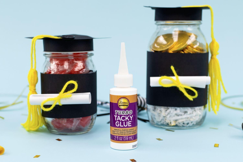 Graduation Party Favor Jars