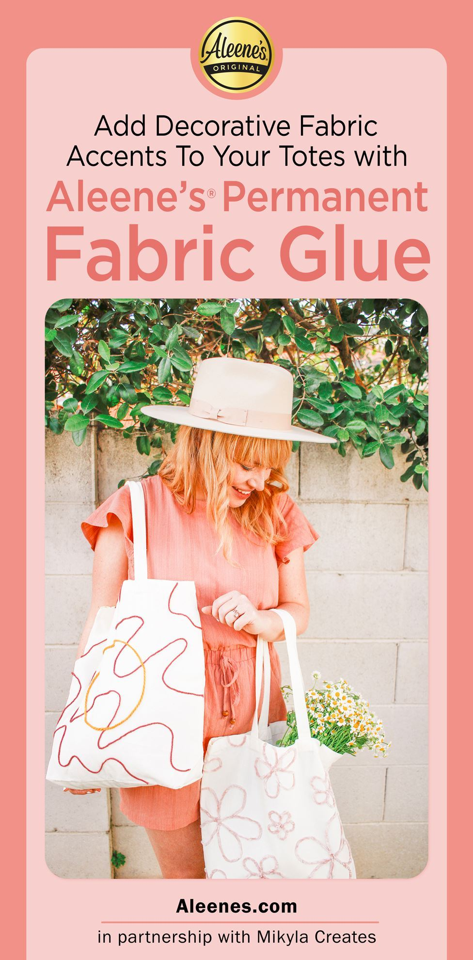 Picture of Easiest DIY Tote Bag Designs with Fabric Glue