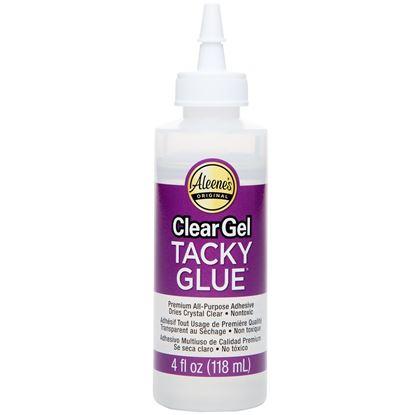 Clear Gel Tacky Glue - 4 oz.