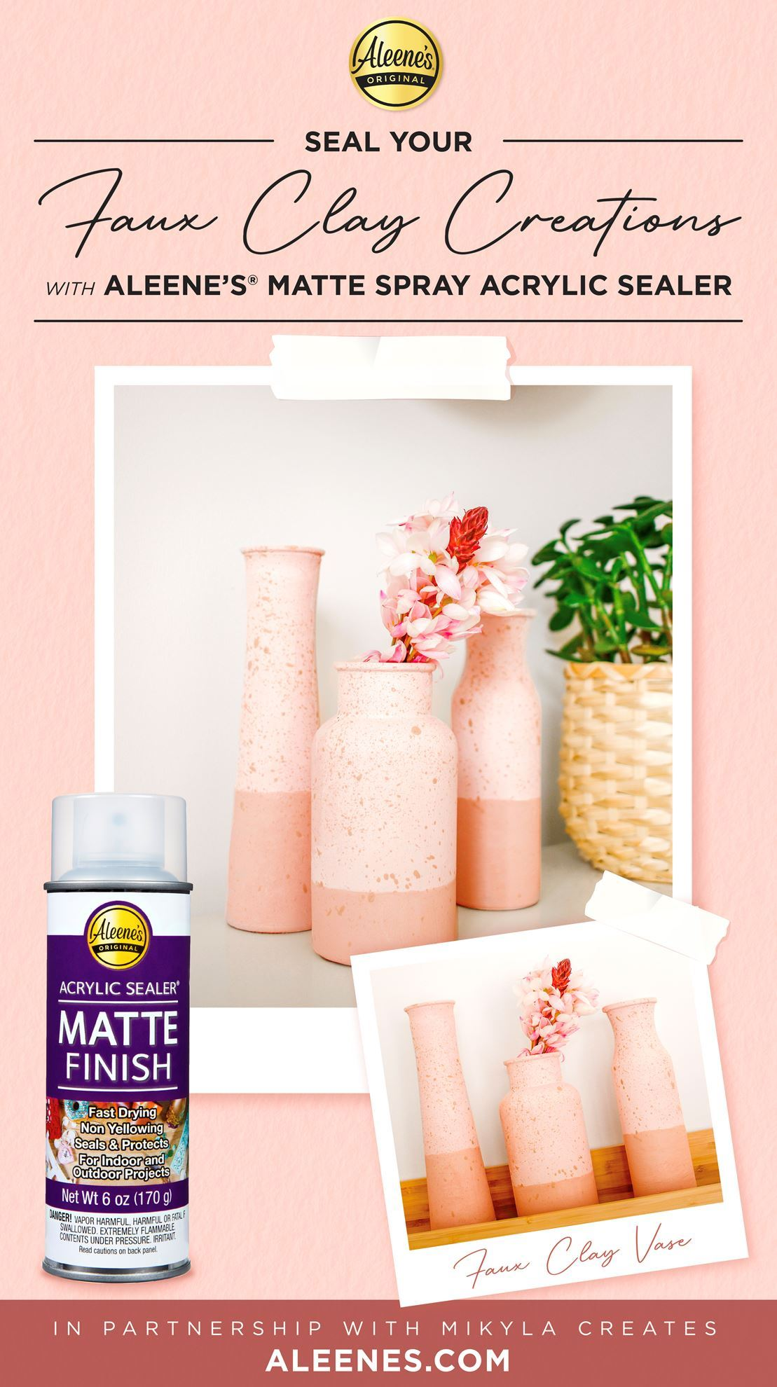 Picture of Faux Clay Vases