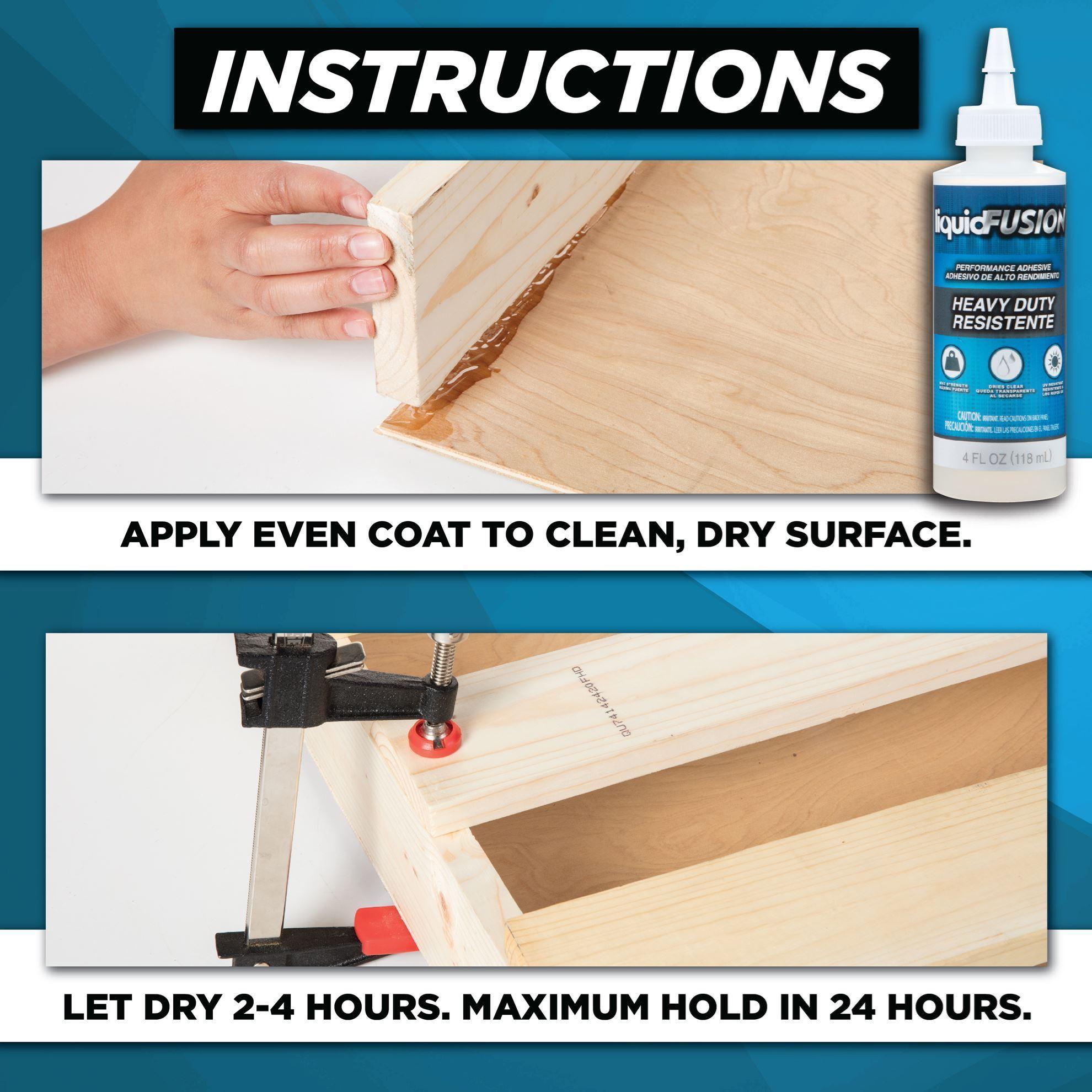 liquid fusion glue how to