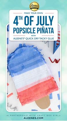 Picture of Make a Popsicle Piñata for Your 4th of July Party