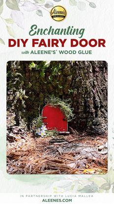 Picture of Fairy Door DIY with Wood Glue