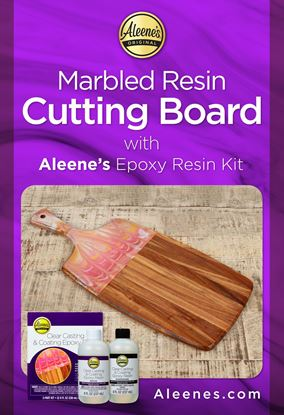 Picture of Marbled Resin Cutting Board DIY