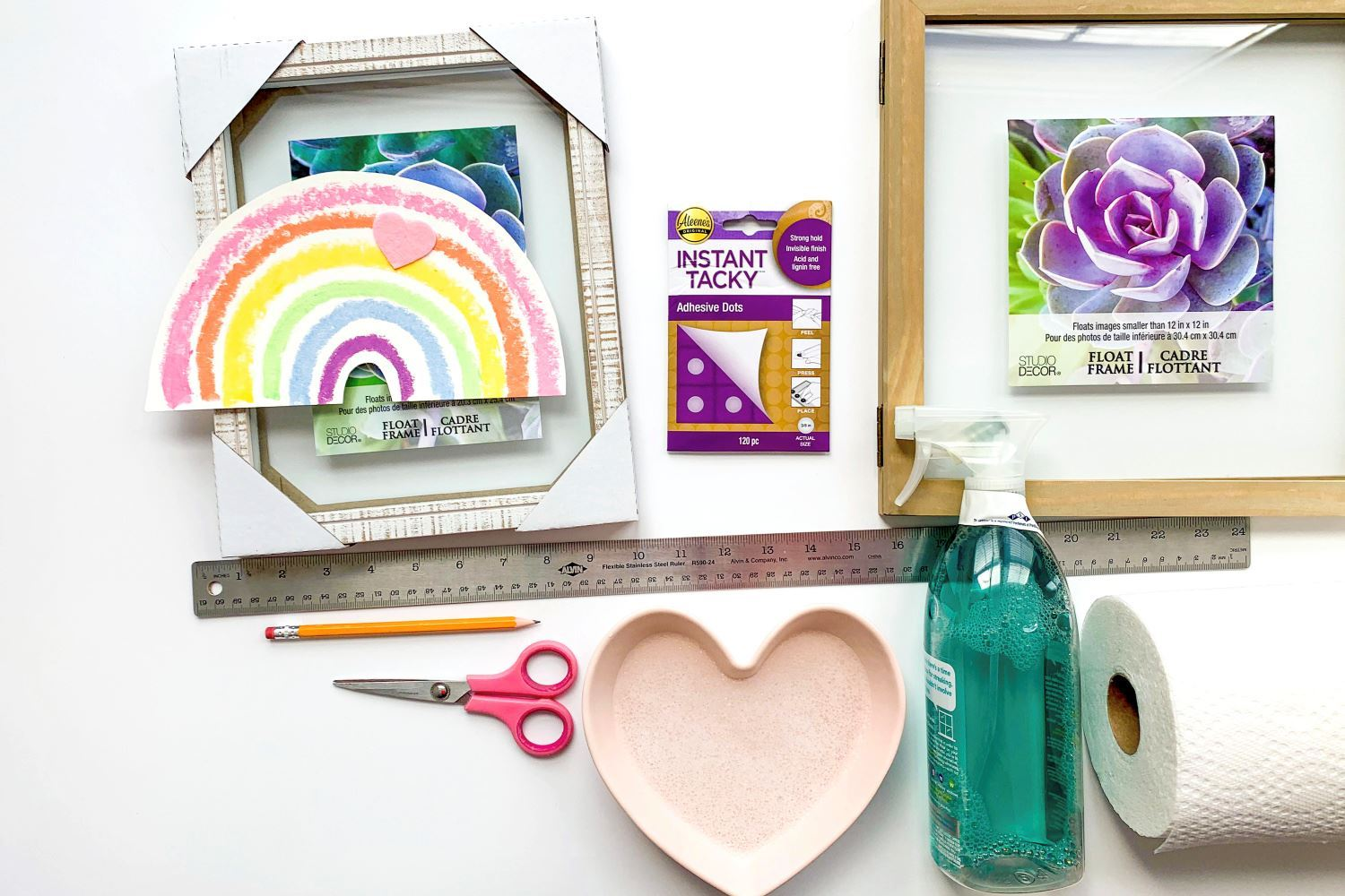 Supplies for artwork display home craft