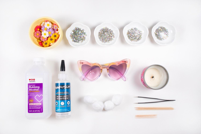 Rhinestone sunglasses supplies