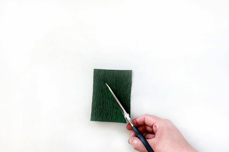 Cut rectangle diagonally