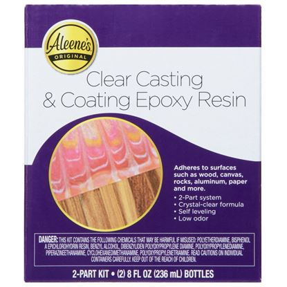 Clear Casting & Coating Epoxy Resin Kit front of box