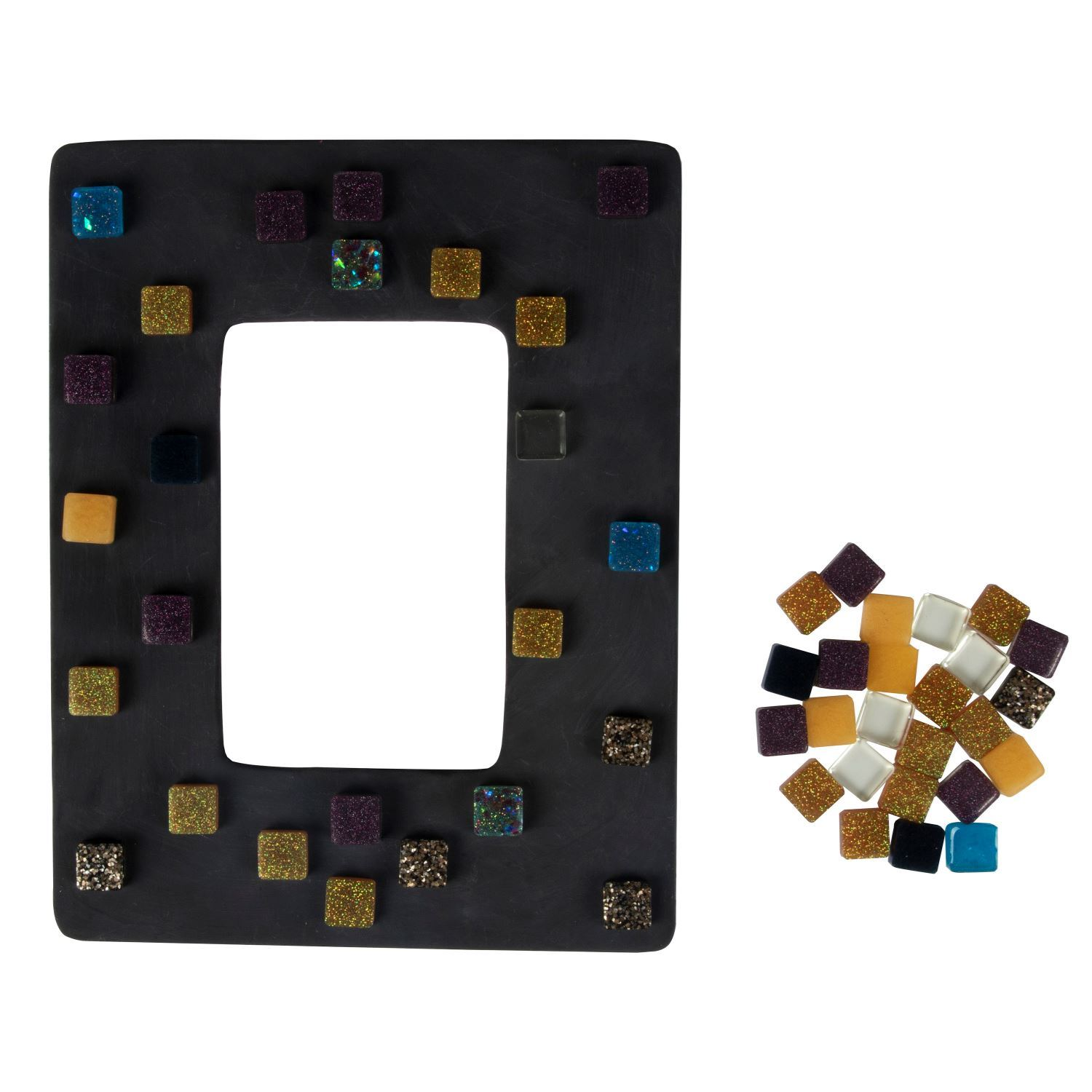 Clear Casting & Coating Epoxy Resin Kit tile frame project