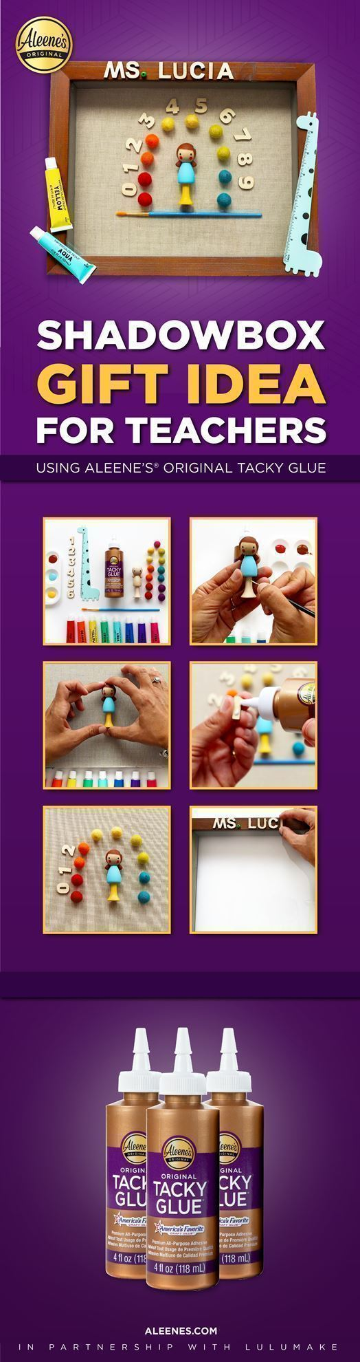 DIY Teacher Appreciation Gift with Tacky Glue