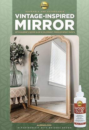 Picture of Adorable and Affordable Vintage-Inspired Mirror