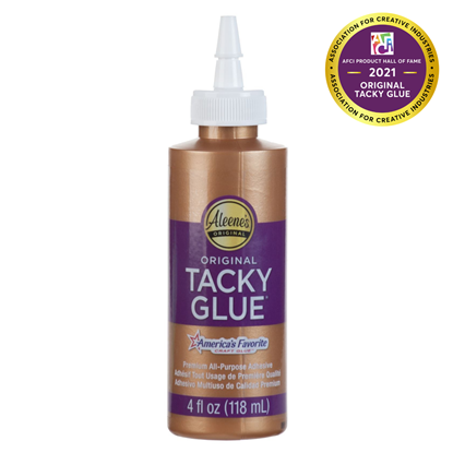 Aleenes® Original Tacky Glue® 4 oz. -  Aleene's Original Tacky Glue Inducted into AFCI Product Hall of Fame