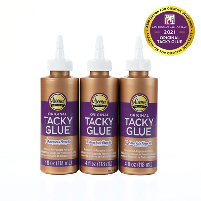 Aleene's® Original Tacky Glue® 4-oz. 3 Pack - Aleene's Original Tacky Glue Inducted into AFCI Product Hall of Fame